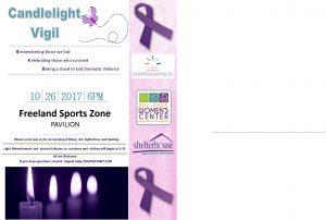 DVAM Candlelight Vigil @ Freeland SportsZone