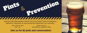 Pints & Prevention @ Heck's Bar